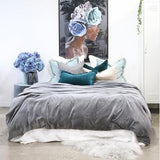 Eadie Lifestyle | Linlas Bedding Slate | Bedding