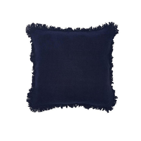 Eadie Lifestyle | Luca Boho Navy Square Cushion