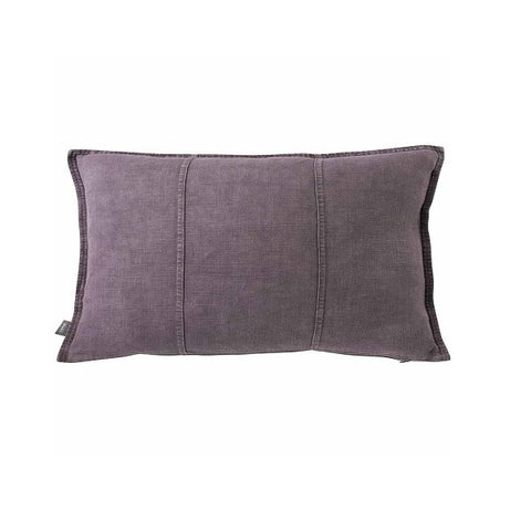 Eadie Lifestyle | Luca Linen Aubergine Rectangular | Cushion