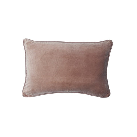 Eadie Lifestyle | Lynette Velvet Musk Cushion Rectangular