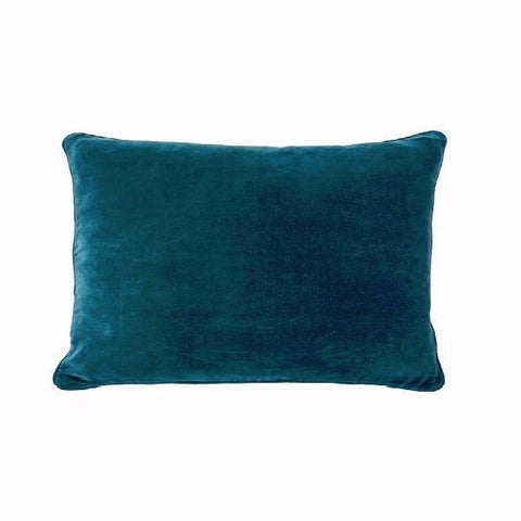 Eadie Lifestyle | Lynette Velvet Ocean Cushion Rectangular