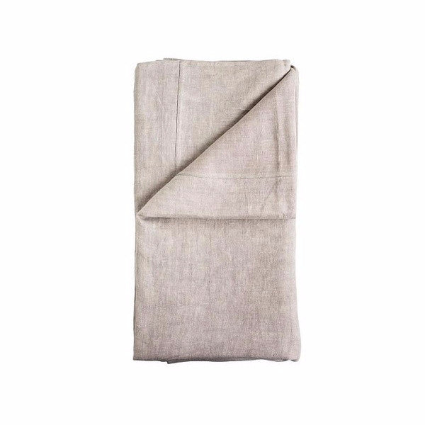 Eadie Lifestyle | Luca Linen Bed Cover Silver Grey | Bedding