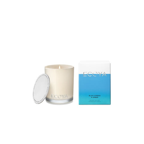 Ecoya | Blue Cypress & Amber | Candle Mini