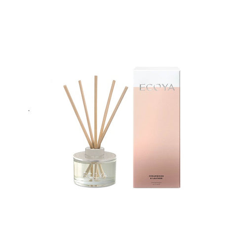 Ecoya | Cedarwood & Leather | Diffuser Mini