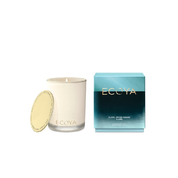 Ecoya | Clove, Spiced Ginger & Lime | Limited Edition Candle