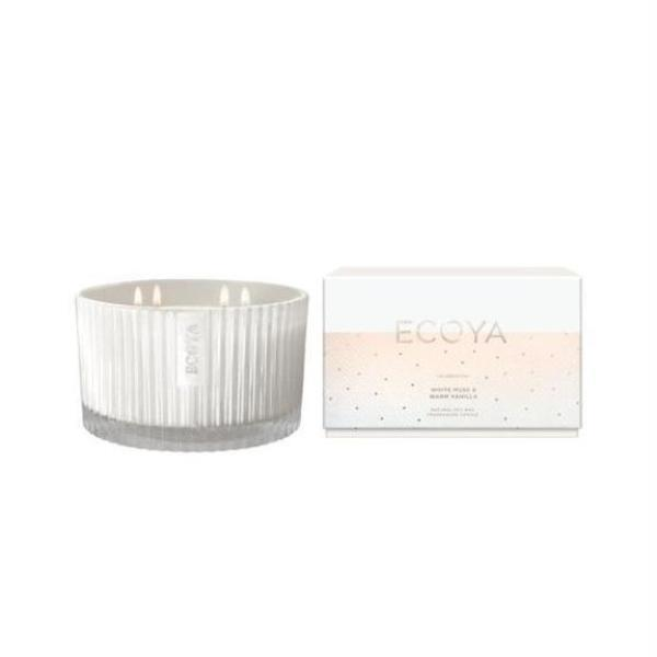 Ecoya | White Musk & Warm Vanilla | Grand Candle