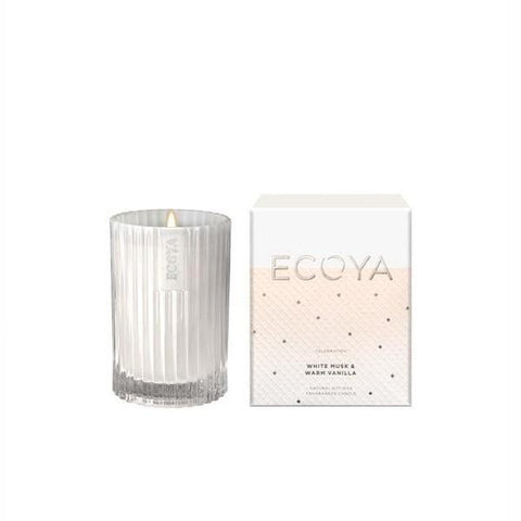 Ecoya | White Musk & Warm Vanilla | Candle Mini