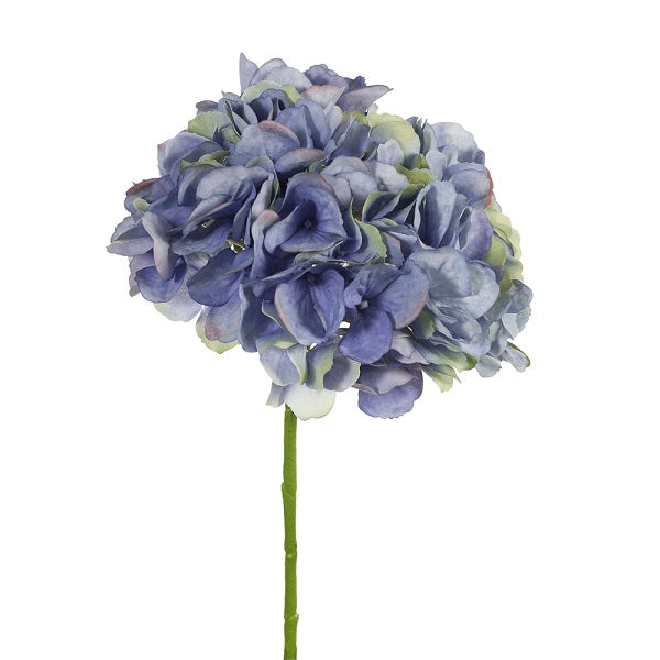 Floral | Hydrangea Without Leaf Dark Blue 46cmL