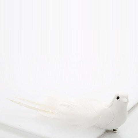 Decorative | Cascalina White Bird | Christmas