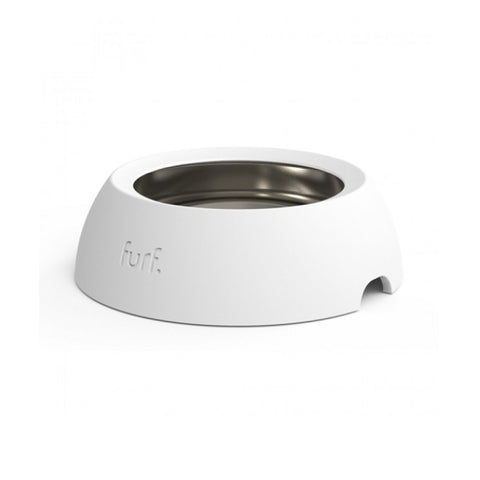 FURF | Spill Resistant Pet Bowl Bone White - 3 sizes