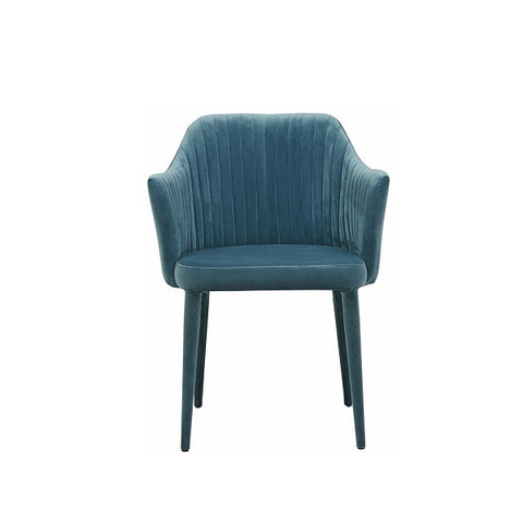 Globe West | Carter Armchair Velvet Teal | Furniture