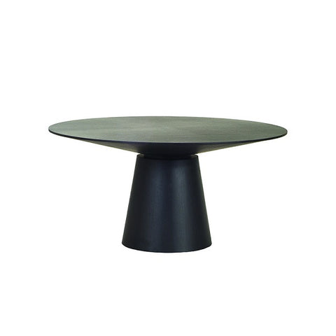 Globewest | Classique Round Dining Table Matt Dark Oak Various Sizes | Furniture