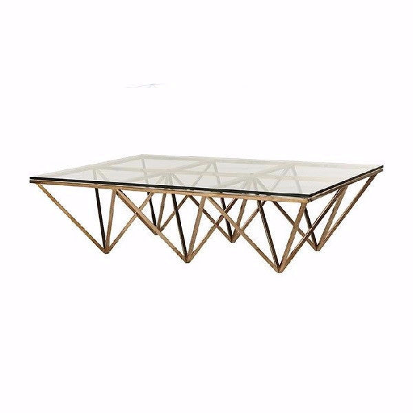 Globe West | Elle Rectangular Eiffel Coffee Table | Furniture ...