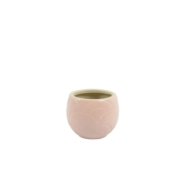 Amina Pot Soft Pink - Multiple Sizes | Decor