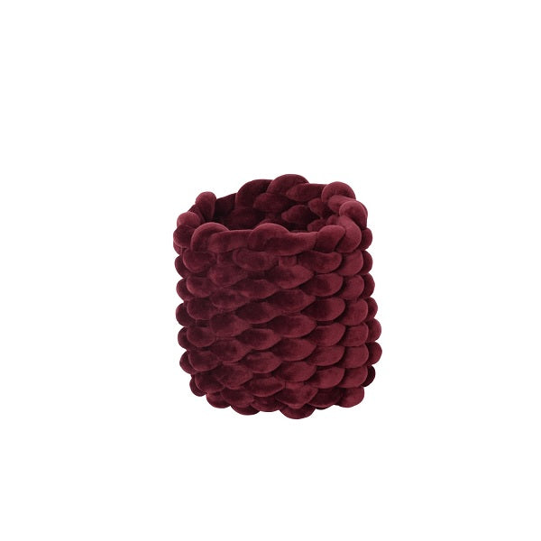 Moxy Pot Holder Burgundy 15cm | Decor