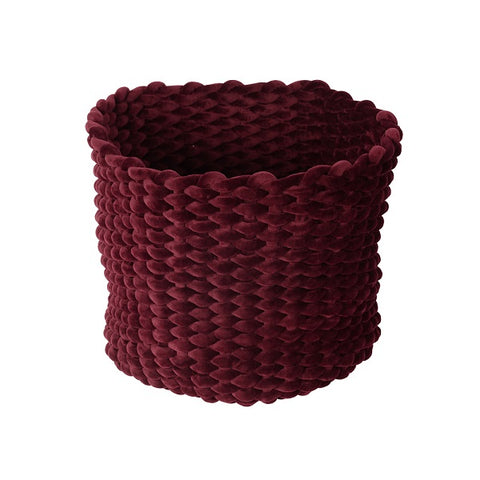 Moxy Pot Holder Burgundy 44cm | Decor