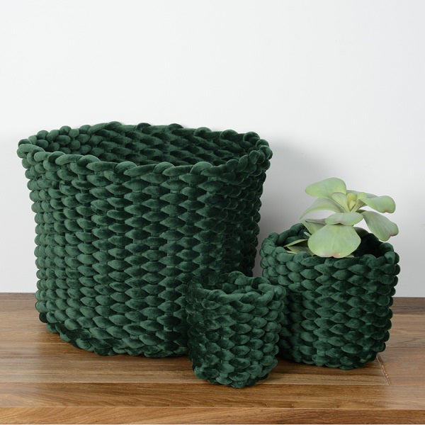 Moxy Pot Holder Emerald 44cm | Decor