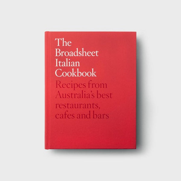 The Broadsheet Italian Cookbook | Book