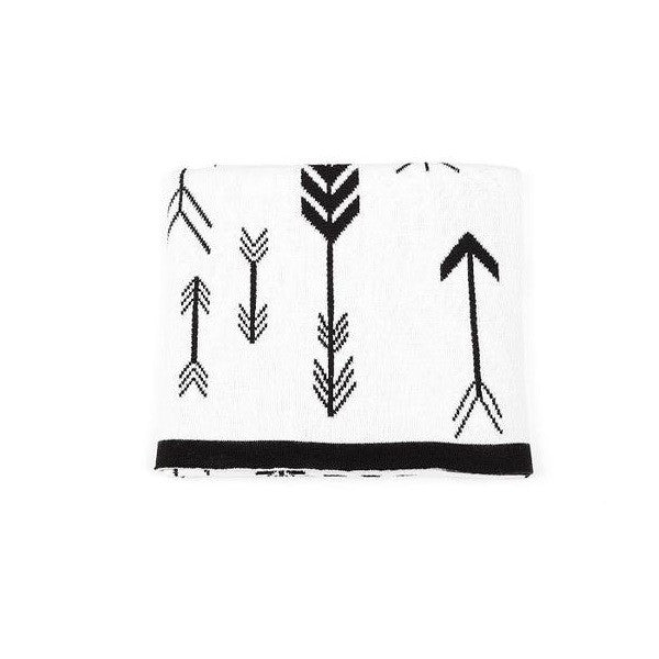 Indus Design | Baby Blanket Arrow