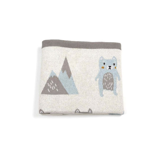 Indus Design | Baby Blanket Barry Bear
