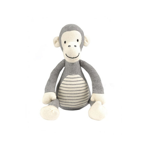 Decor | Monkey Jingle Grey Toy