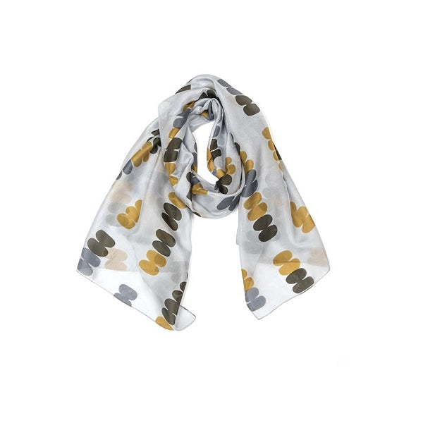 Indus Design | Silk Pebble Scarf Grey