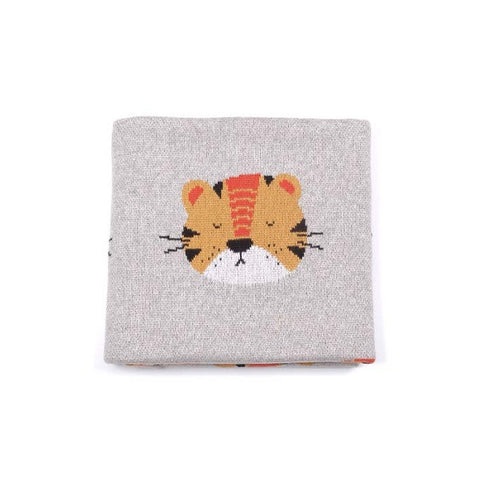 Indus Design | Baby Blanket Tiger