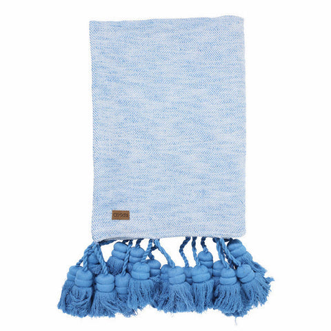 Kip & Co | Throw - Marina Tassel
