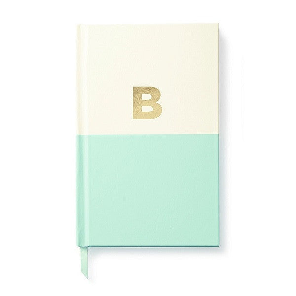Kate Spade NY | Dipped Initial Notebook - B | Stationery