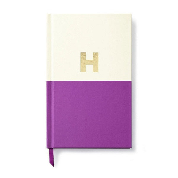 Kate Spade NY | Dipped Initial Notebook - H | Stationery