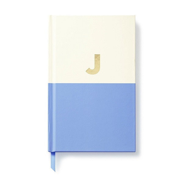 Kate Spade NY | Dipped Initial Notebook - J | Stationery