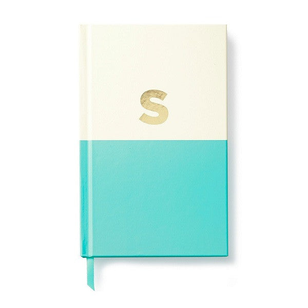Kate Spade NY | Dipped Initial Notebook - S | Stationery