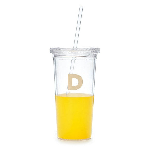 Kate Spade NY | Dipped Initial Insulated Tumbler - D | Accessories