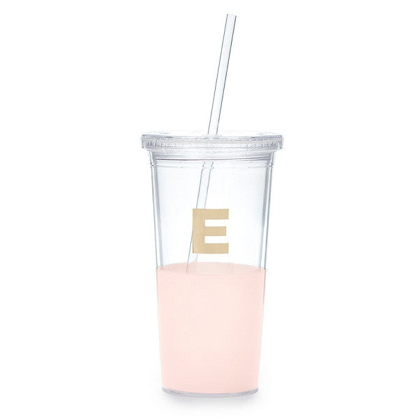 Kate Spade NY | Dipped Initial Insulated Tumbler - E | Accessories