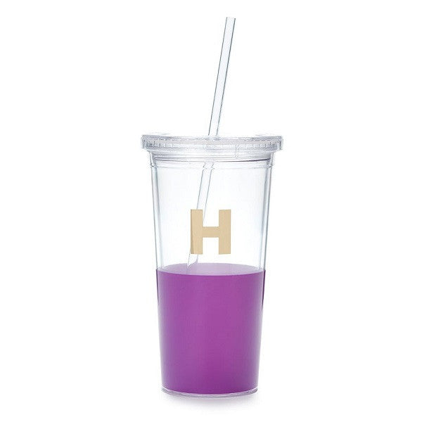 Kate Spade NY | Dipped Initial Insulated Tumbler - H | Accessories