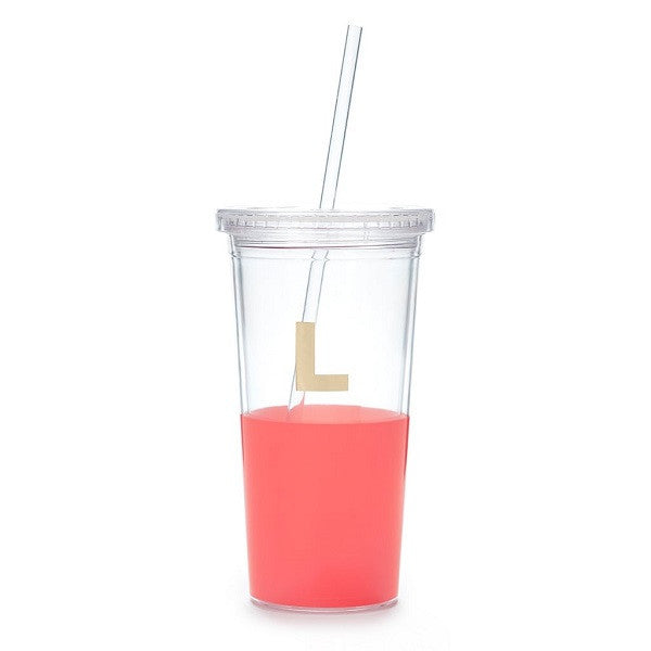 Kate Spade NY | Dipped Initial Insulated Tumbler - L | Accessories