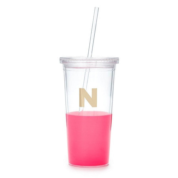Kate Spade NY | Dipped Initial Insulated Tumbler - N | Accessories