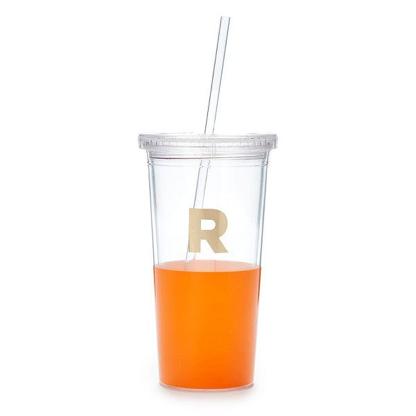Kate Spade NY | Dipped Initial Insulated Tumbler - R | Accessories