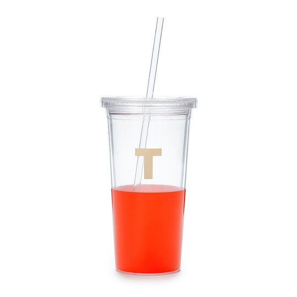Kate Spade NY | Dipped Initial Insulated Tumbler - T | Accessories