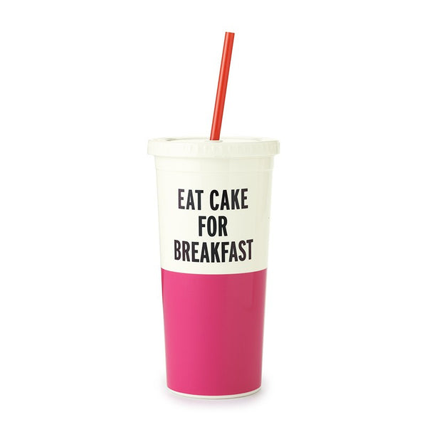 Kate Spade NY | Eat Cake for Breakfast Tumbler | Accessories