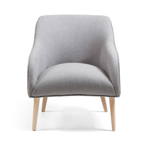 Lobby Armchair - Grey | Furniture