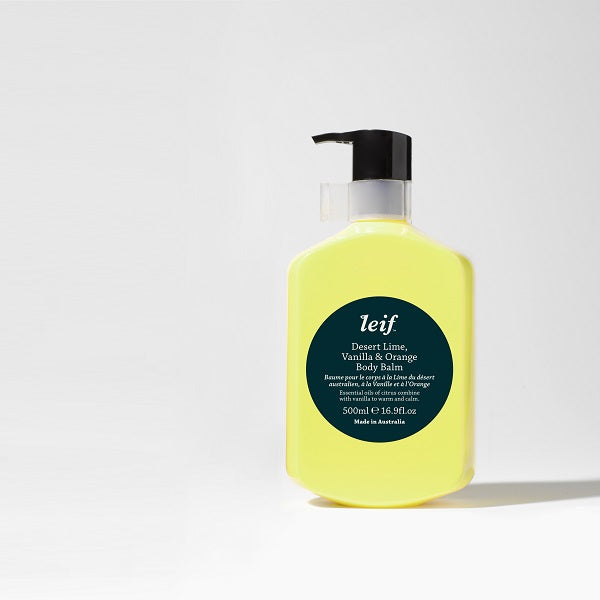 Leif | Desert Lime, Vanilla & Orange Body Balm 500ml
