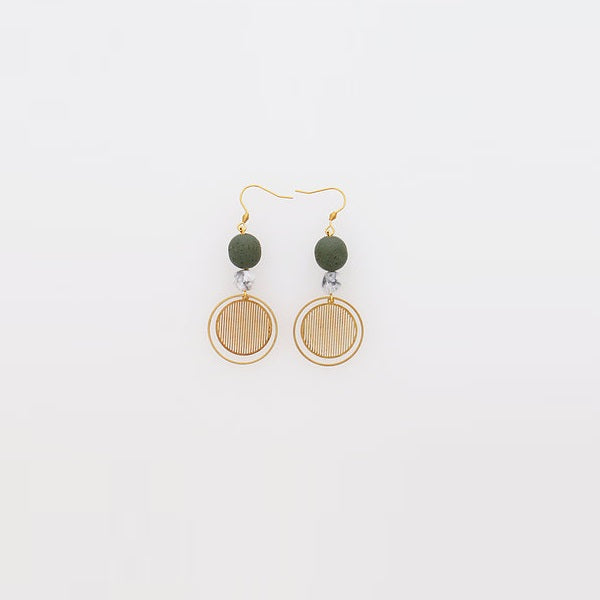 Middle Child | Demi Earrings Olive