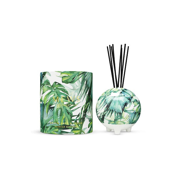 Mews Collective | Green Sage & Cedar | Diffuser