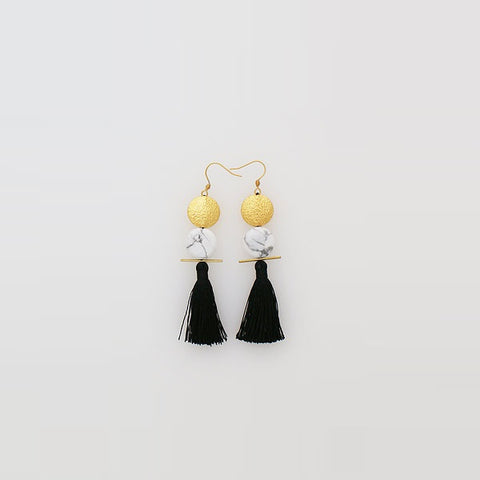 Middle Child | Saintly Earrings Black