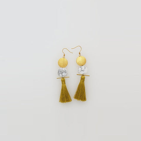 Middle Child | Saintly Earrings Olive
