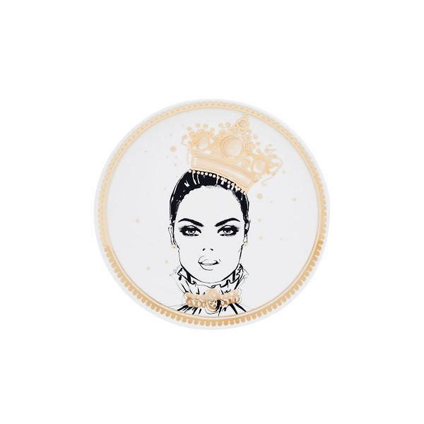 Megan Hess Tabletop - Kingdom Collection Plate - The Imperial Collar