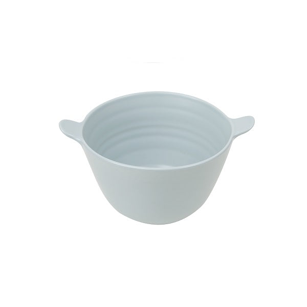 Mint Home | Willow Small Salad Bowl with Handle - Blue Haze
