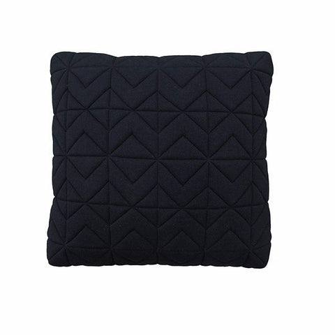 Casper Quilted Charcoal Box Cushion