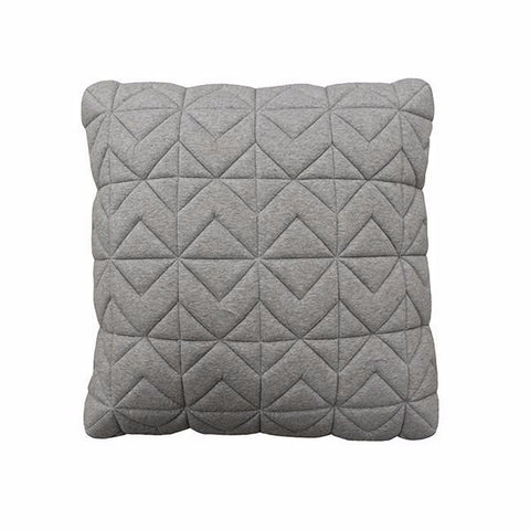 Casper Quilted Light Grey Box Cushion